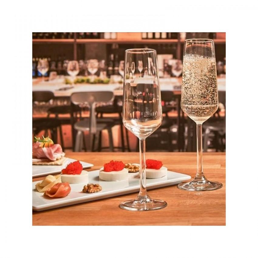 Чаши за шампанско Allegra 195ml - 6 броя