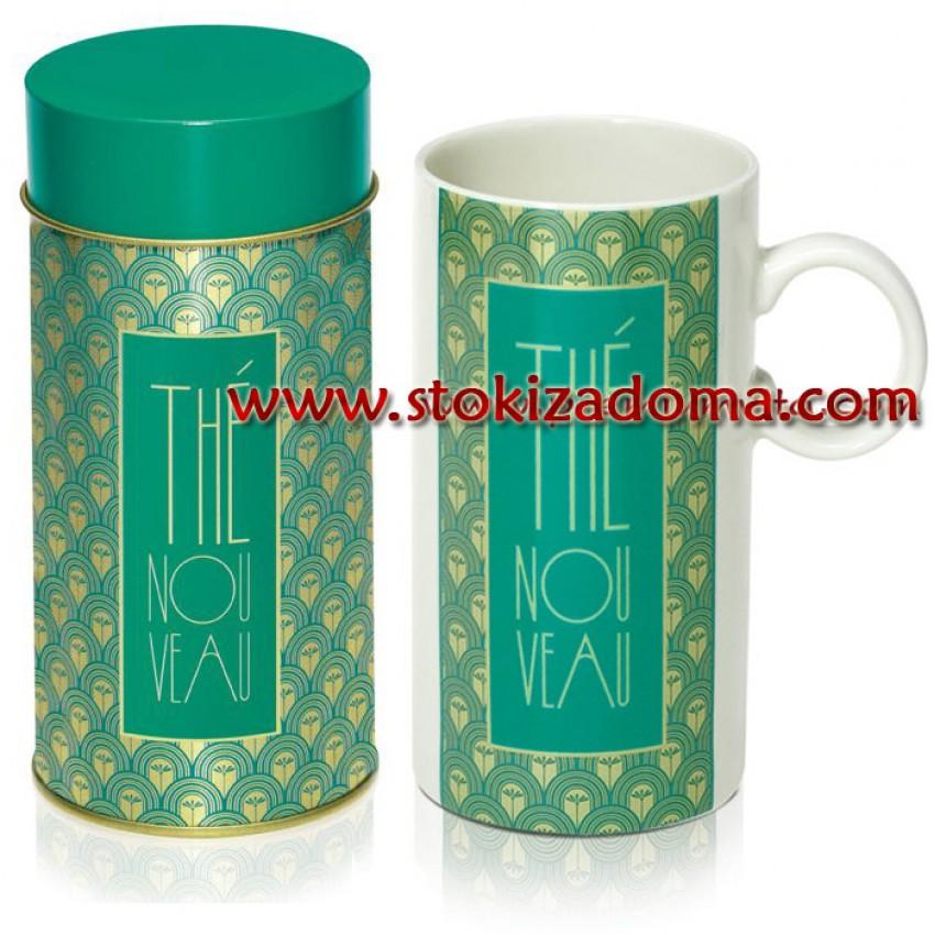 Комплект за чай THE - кутия с чаша