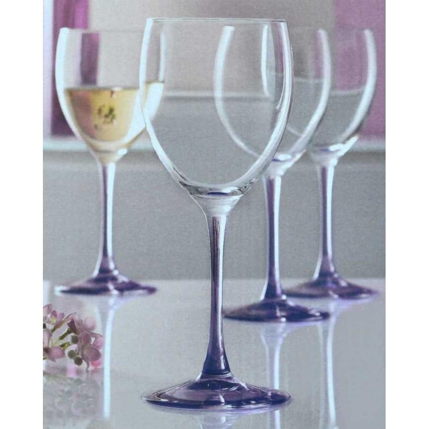 Чаши Sweet Lilac за вино и вода - 4 броя