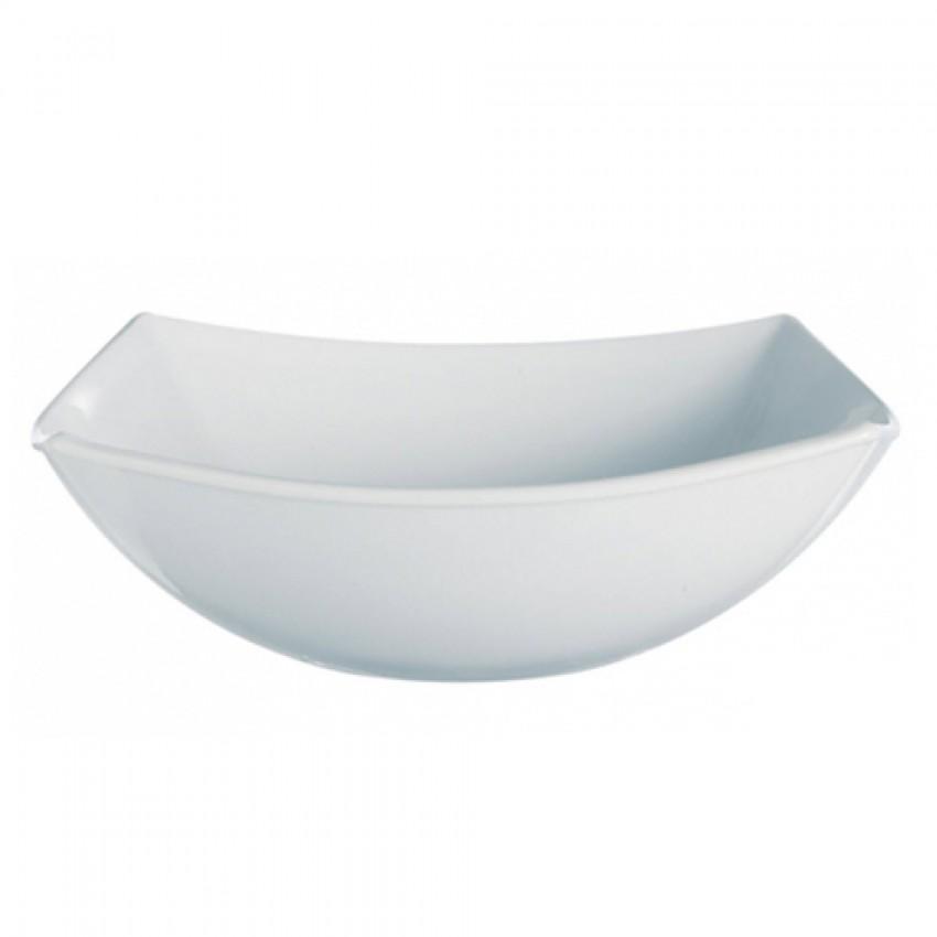 Купа за салата 24см Quadrato - 1 брой - бяла