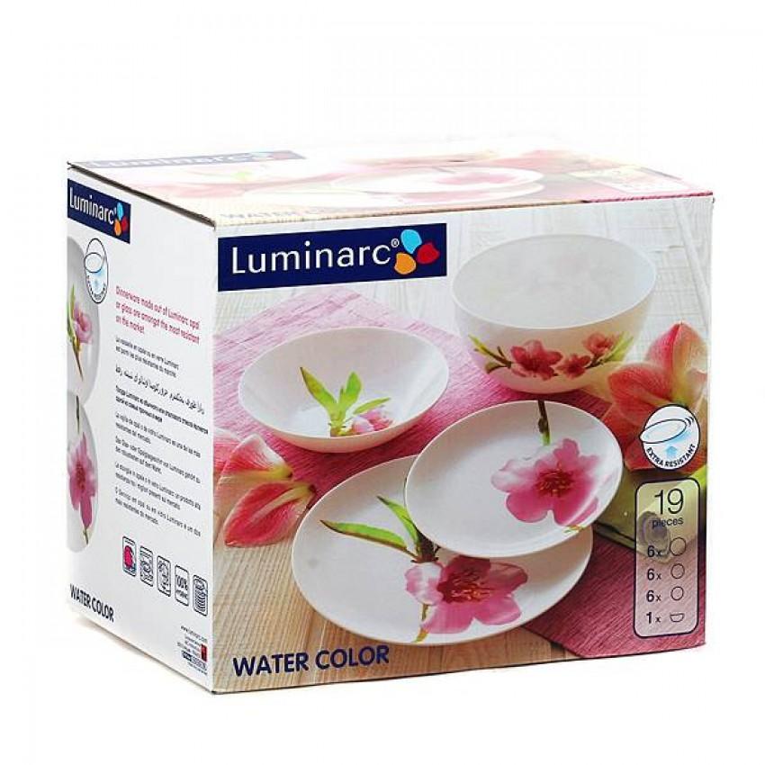 Сервиз Luminarc Water Color - 19 части