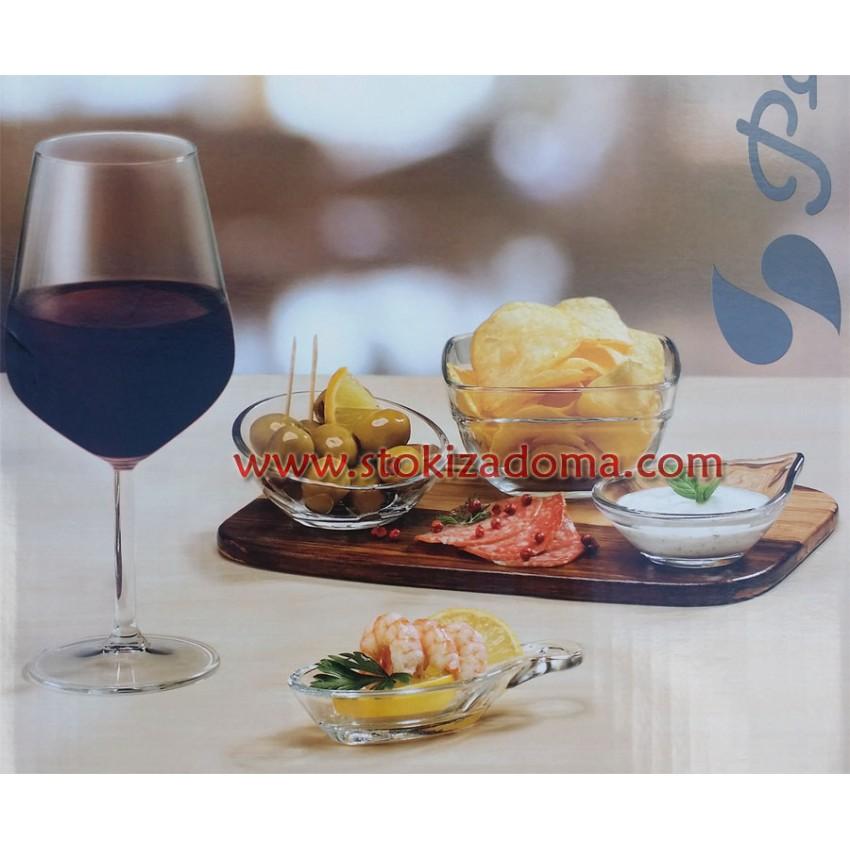 Комплект за вино Allegra - 18 части