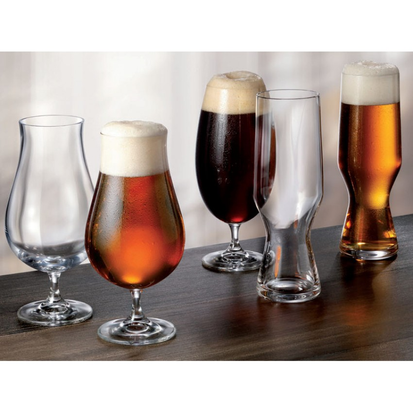 Комплект за бира Bohemia Beercraft - 6 чаши