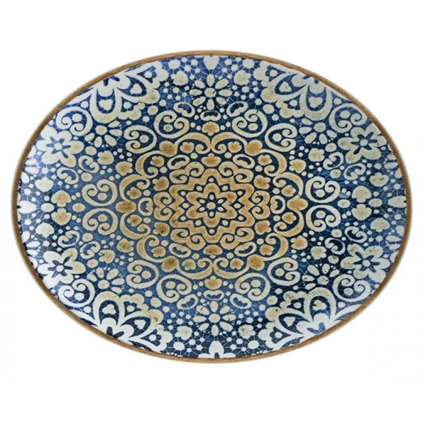 Чиния 31см х 24см овална - 1 брой - Bonna Alhambra