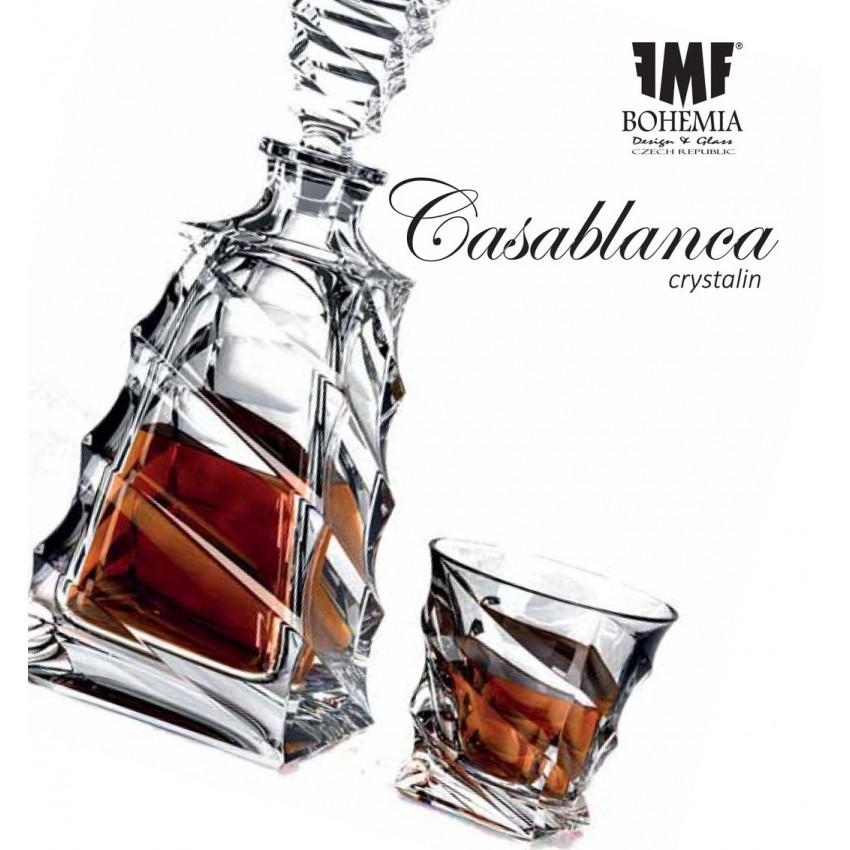 Комплект Bohemia Casablanca - гарафа с 6 чаши