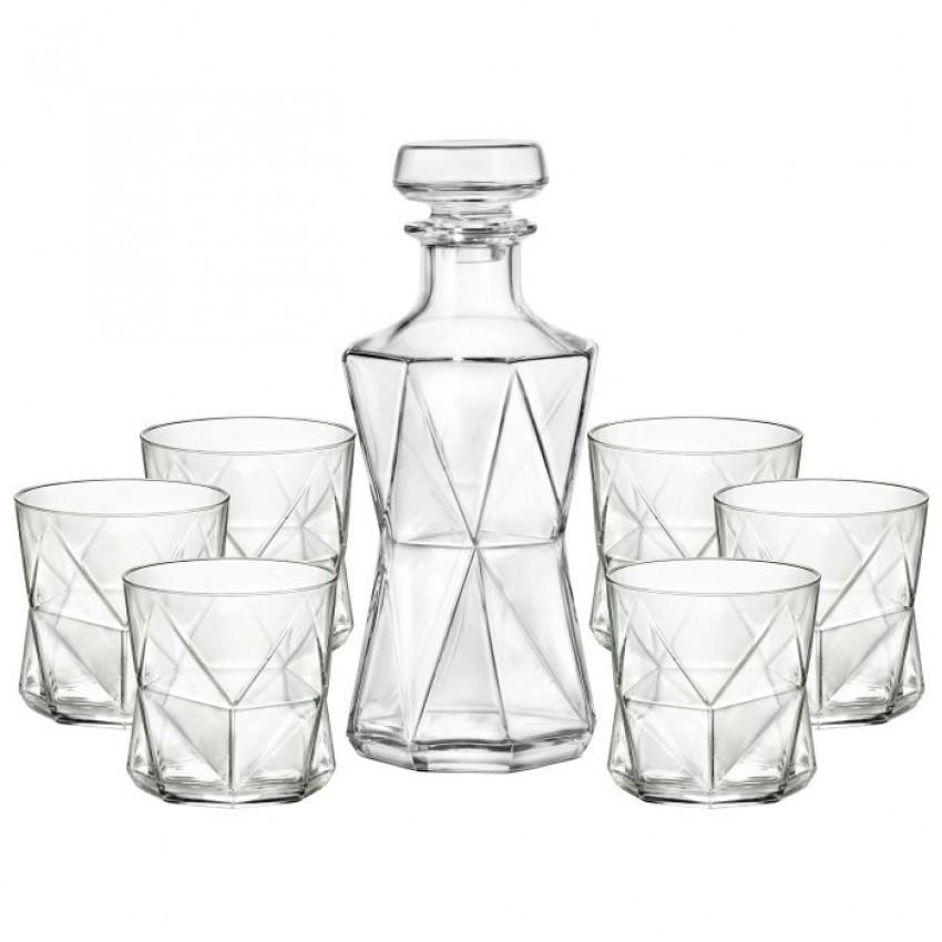Комплект Bormioli Rocco Cassiopea - гарафа с 6 чаши