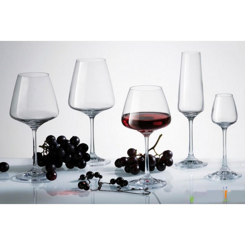 Чаши за вино Bohemia Corvus 350ml - 6 броя