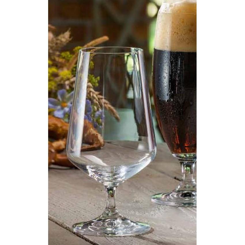 чаши за бира Crystalex Siesta 380ml - 6 броя