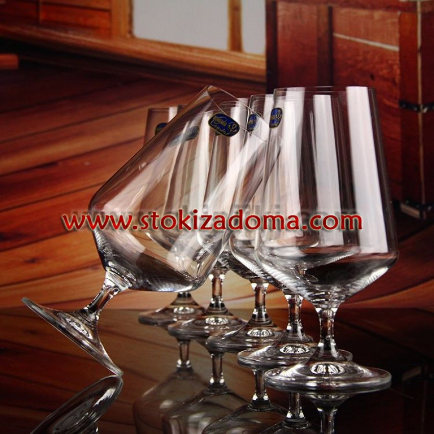 чаши за бира Crystalex Siesta 550ml - 6 броя