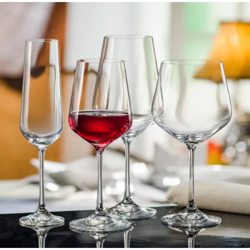 чаши за вино Crystalex Siesta 300ml - 6 броя