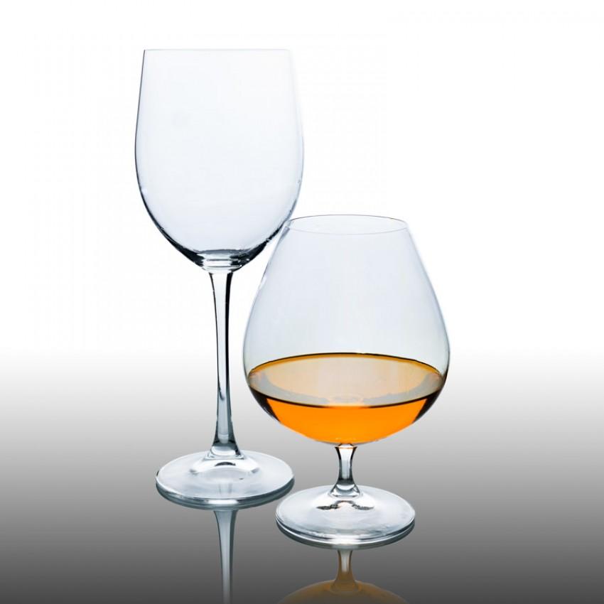 чаши за коняк Lara 400ml - 6 броя
