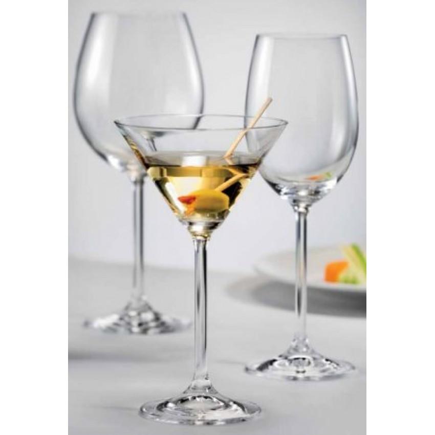 чаши за мартини Lara 210ml - 6 броя