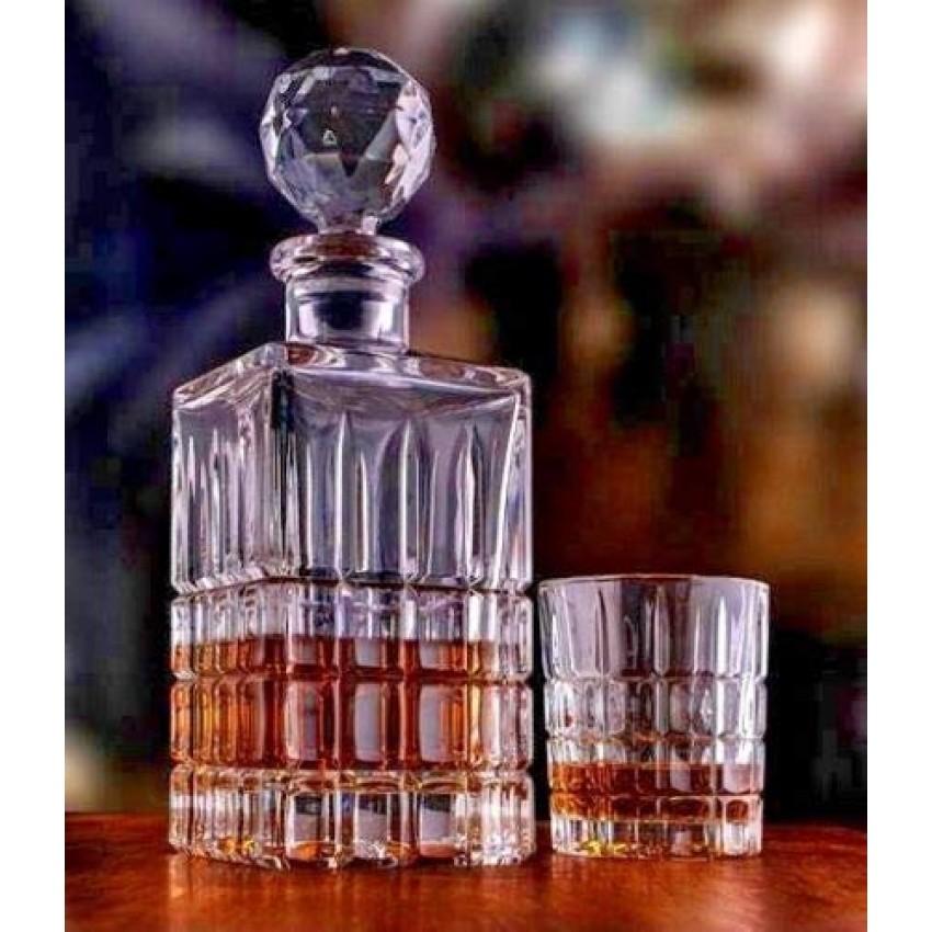 Комплект Bohemia Diplomat - гарафа с 6 чаши