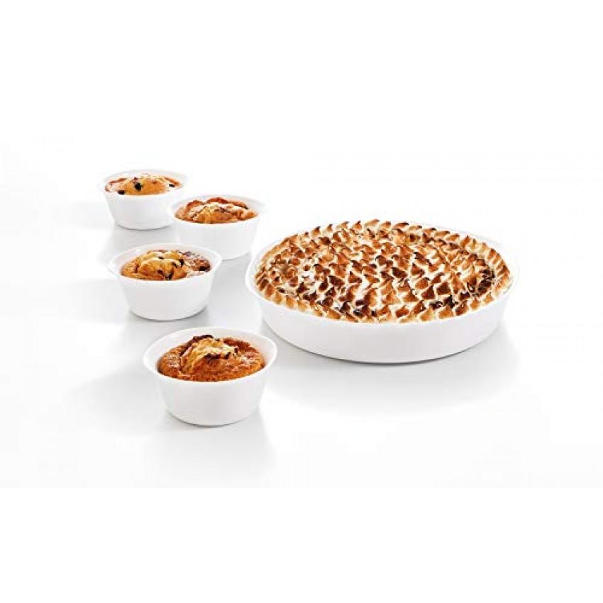 Тава и 4 купички комплект - Luminarc Smart Cuisine