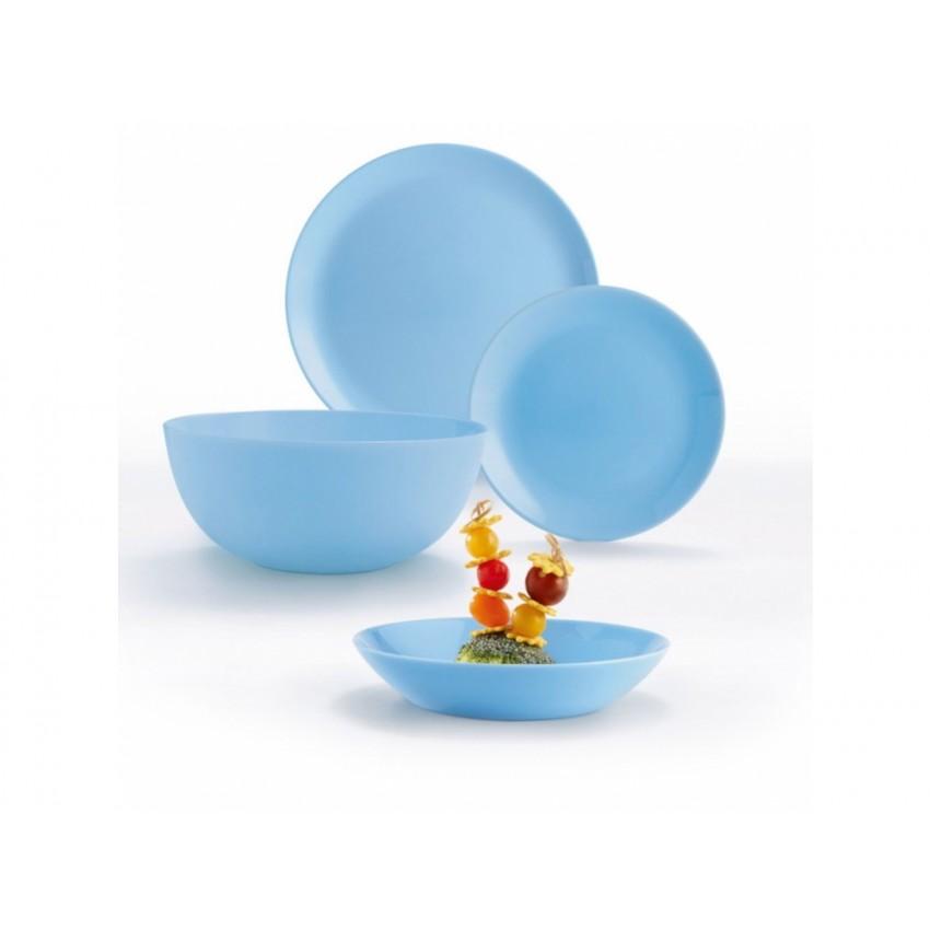 Сервиз Luminarc Diwali Light Blue - 19 части