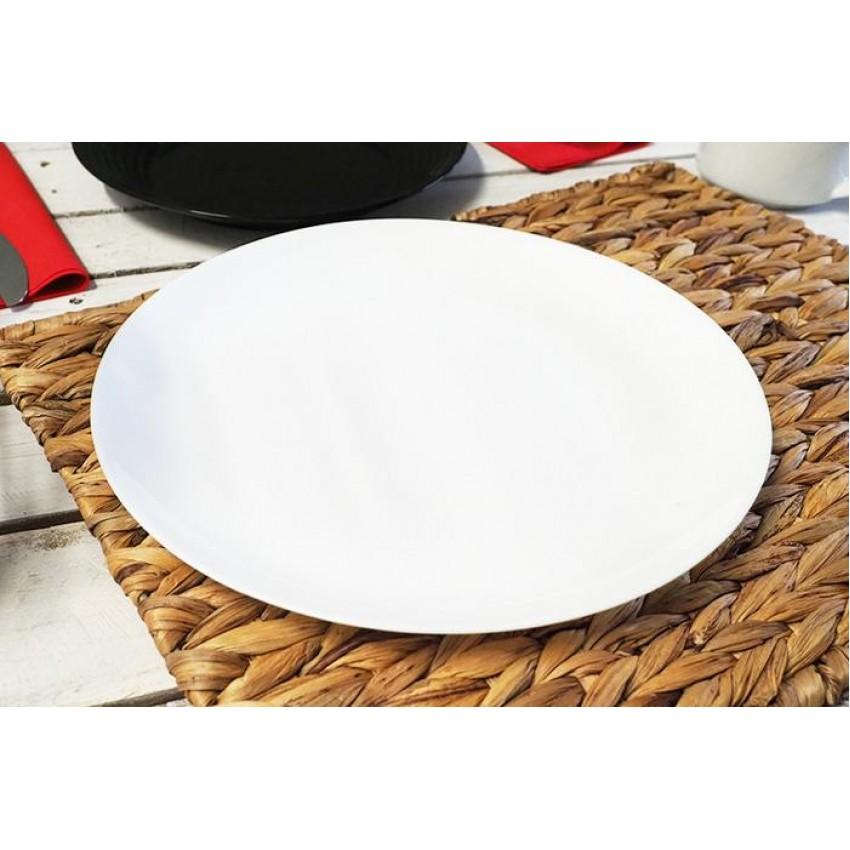 Основна чиния 27см Luminarc Diwali бяла - 6 броя