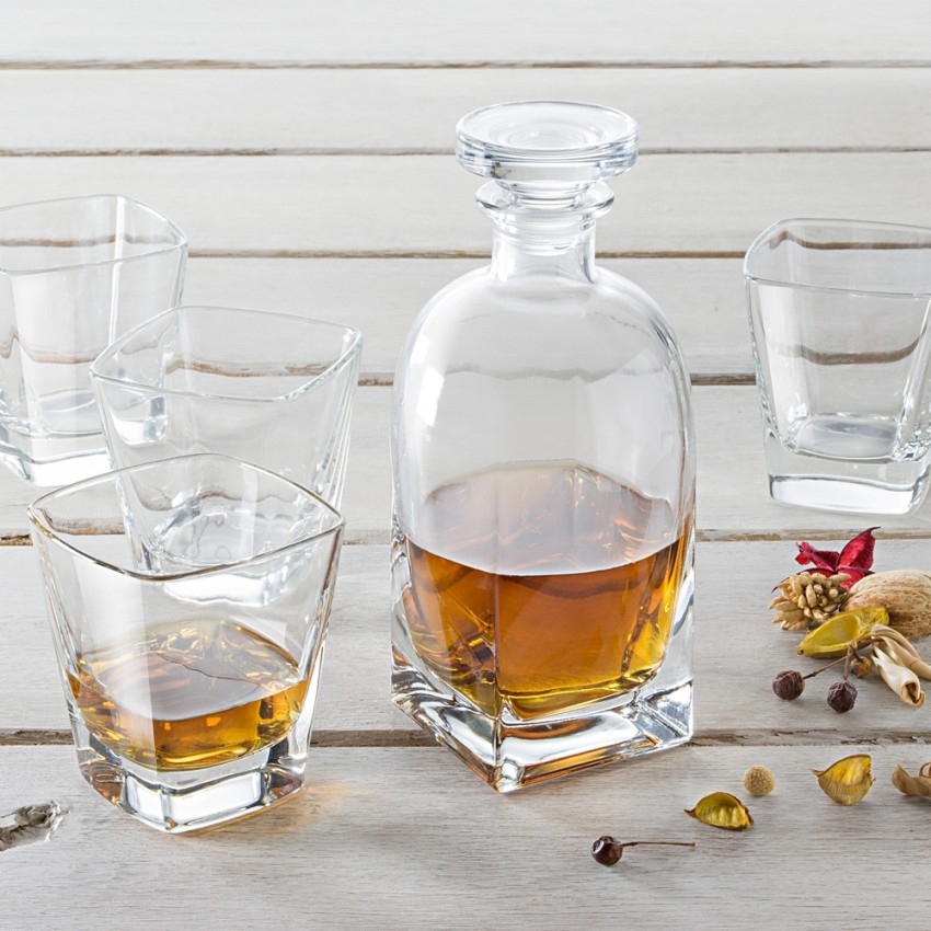 Комплект за уиски Vidivi Ducale - гарафа с 6 чаши