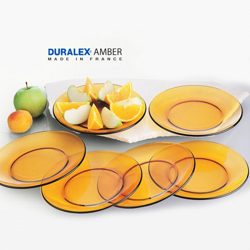 Чиния 19см десертна Duralex Vermeil - 6 броя