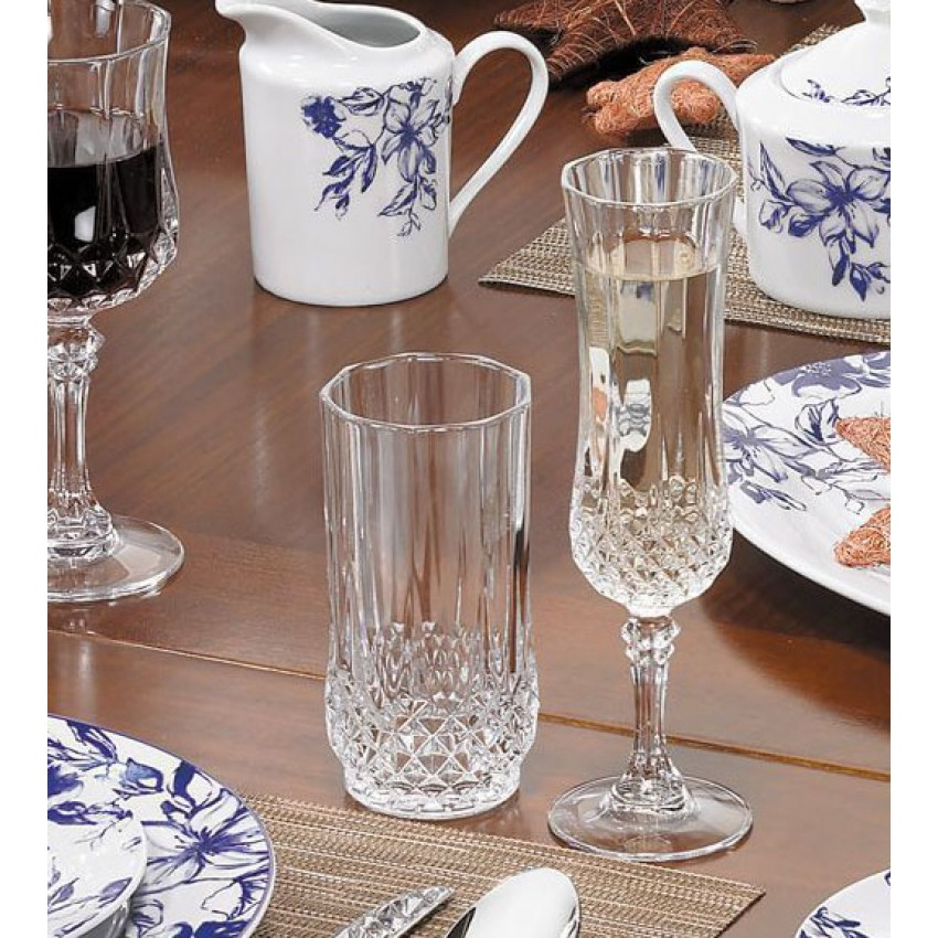 Чаши за вода Longchamp 280ml - 6 броя