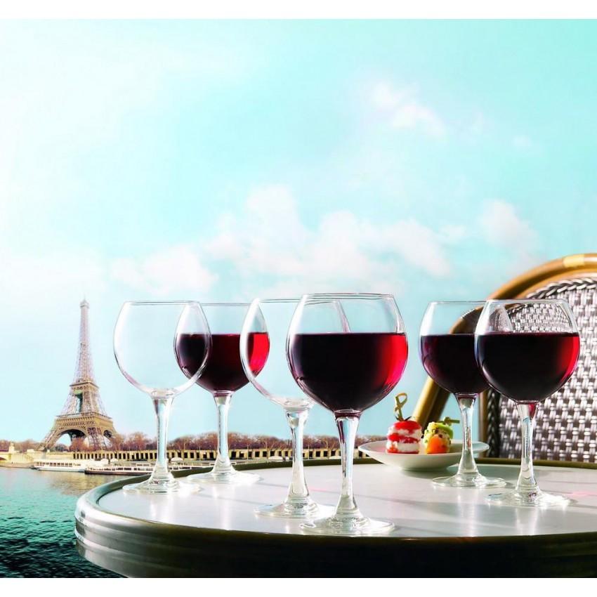 Чаши за вино 210ml - 6 броя