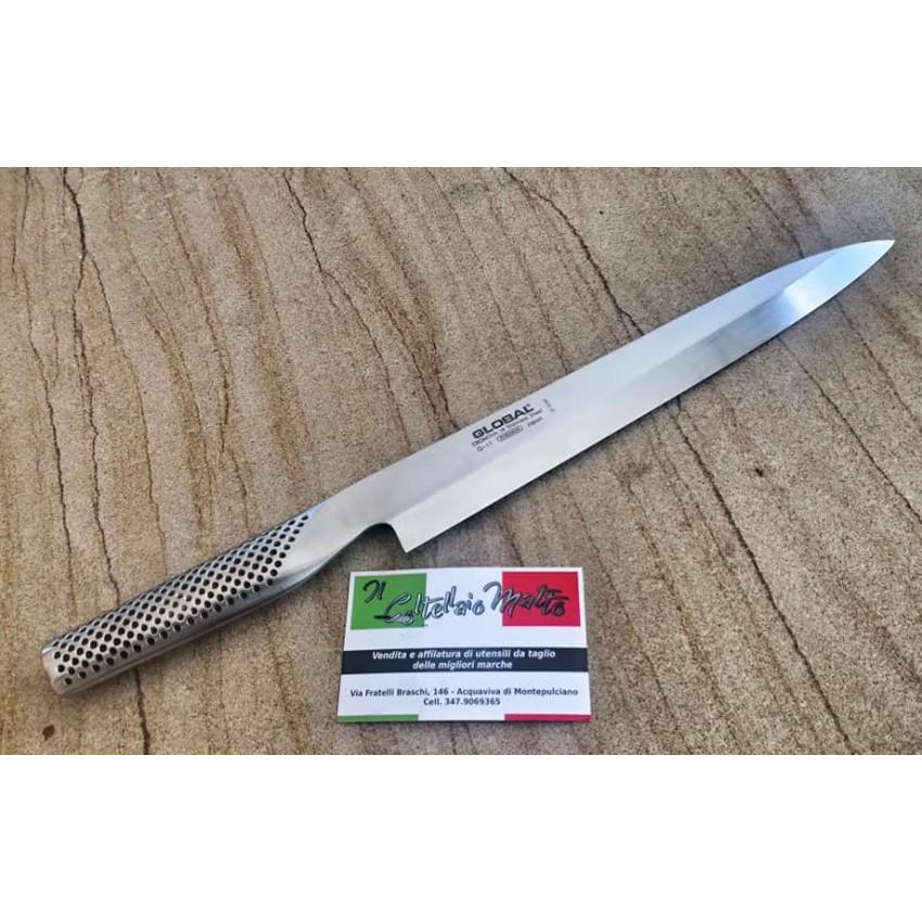 Нож YANAGI 25см G-11 Global Japan