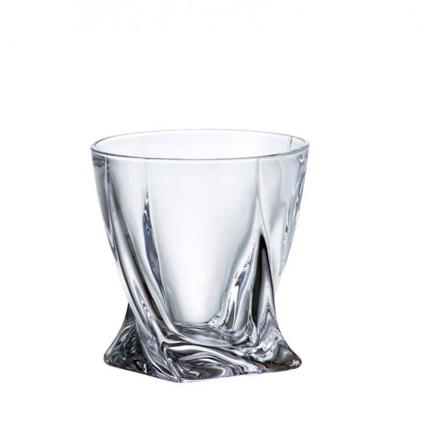 Комплект Bohemia Quadro - гарафа с 6 чаши