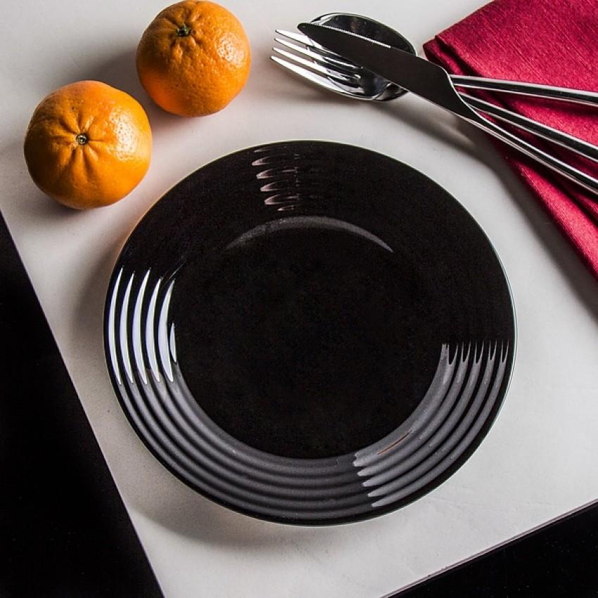 Десертна чиния 19см - 6 броя - Harena черна