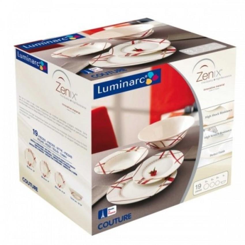 Сервиз Luminarc Couture Bone 19 части