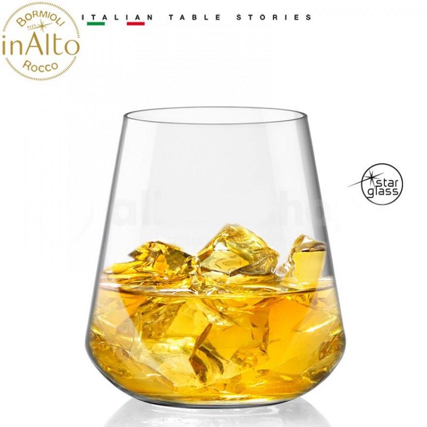 Чаши за уиски Inalto 450ml - 6 броя