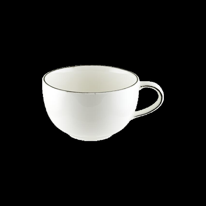 Чаша за чай 250ml с чинийка - 1 брой - Bonna Iris
