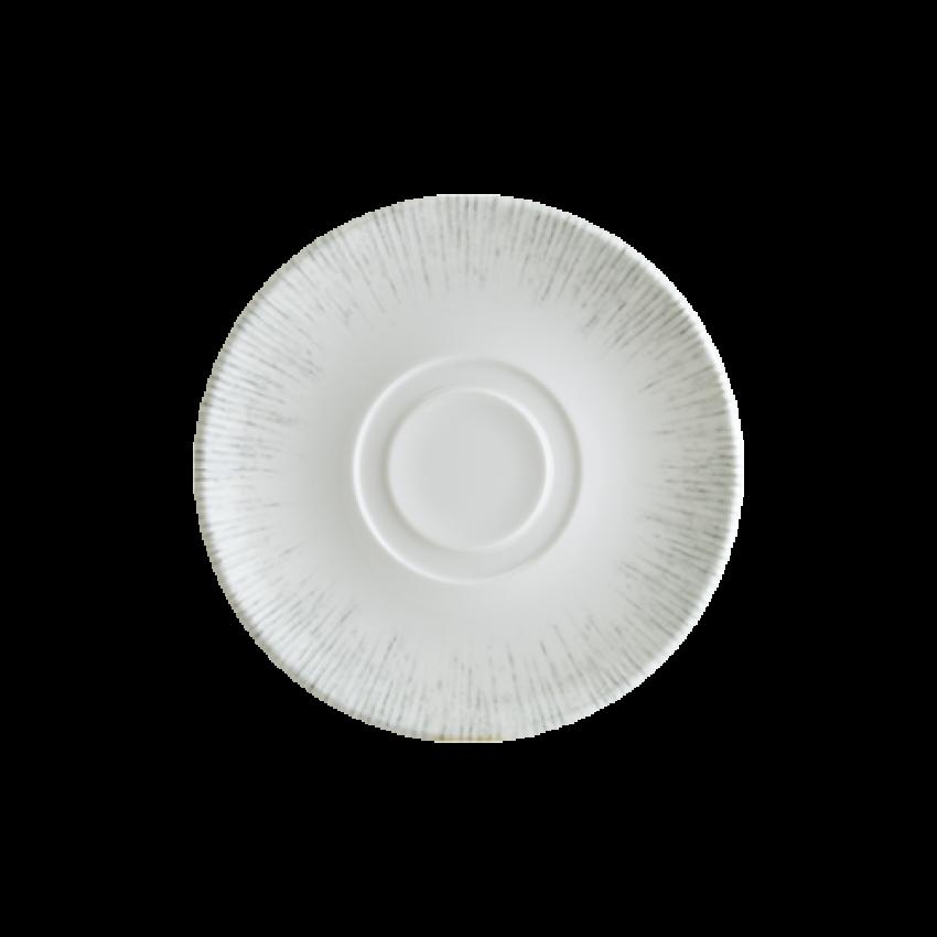 Чаша за кафе 80ml с чинийка - 1 брой - Bonna Iris