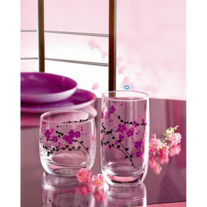 Чаша Luminarc Kashima вода - 3 броя