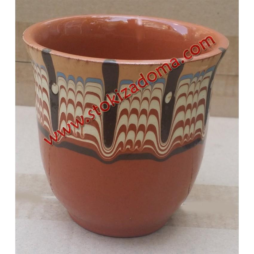 Чаша за вода 250мл битова керамика - 1 брой
