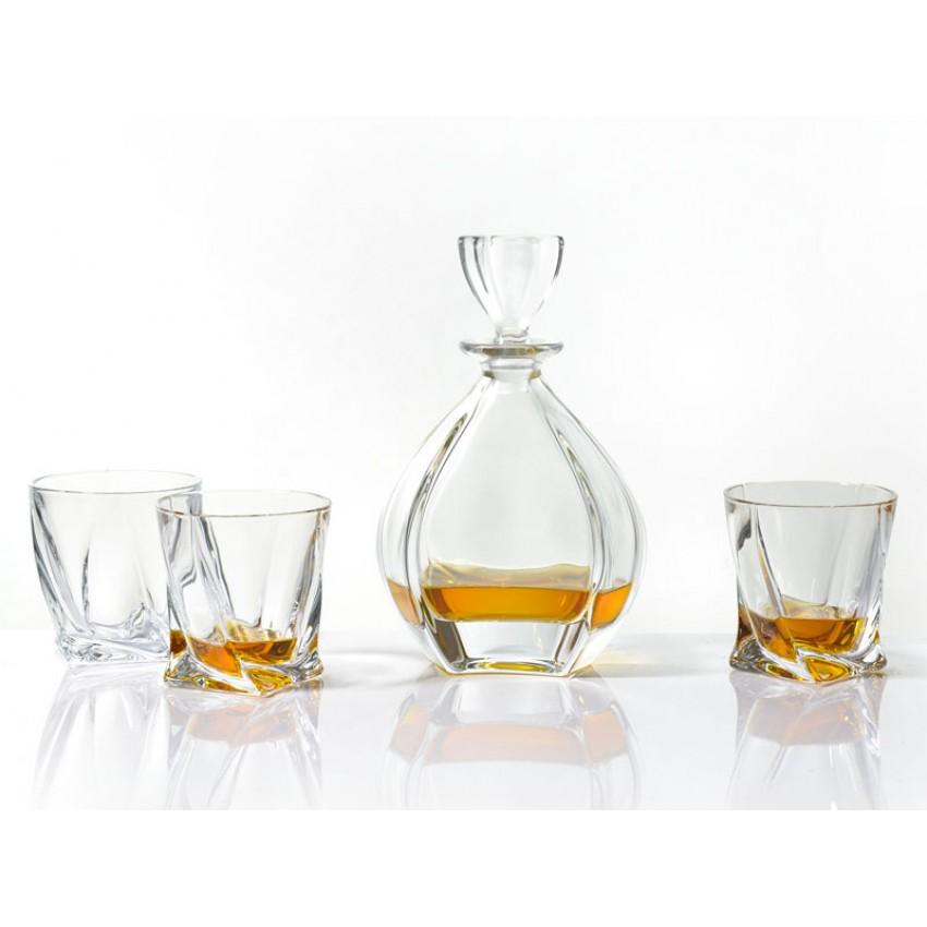 Комплект Bohemia Laguna - гарафа с 6 чаши