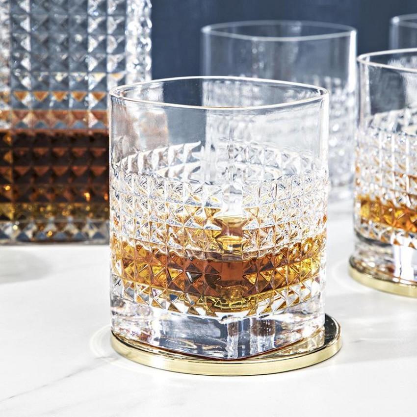 чаши за уиски Luigi Bormioli Mixology Elixir 380ml - 6 броя