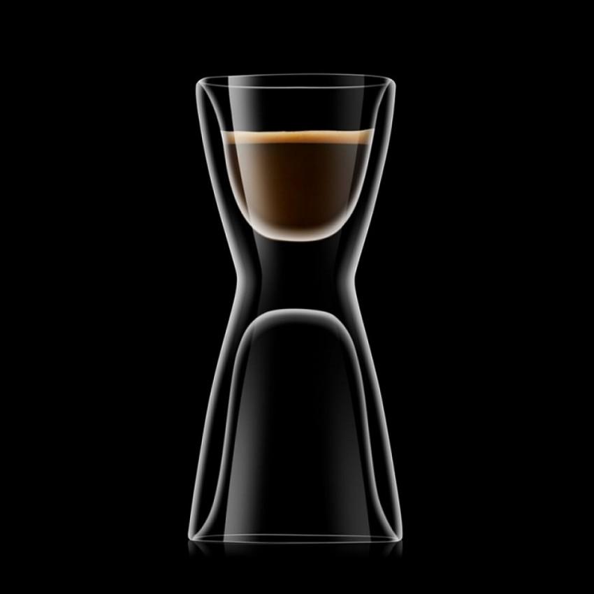 Двустенна двойна чаша Drink and Design - 2 броя