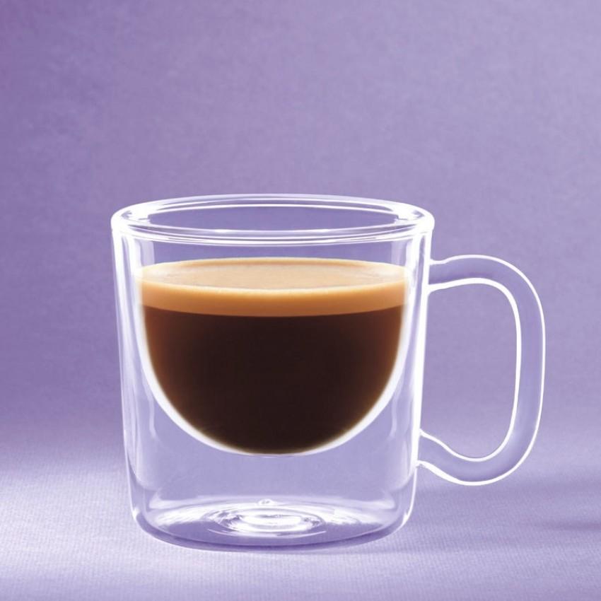 двустенна чаша Luigi Bormioli India 85ml - 2 броя