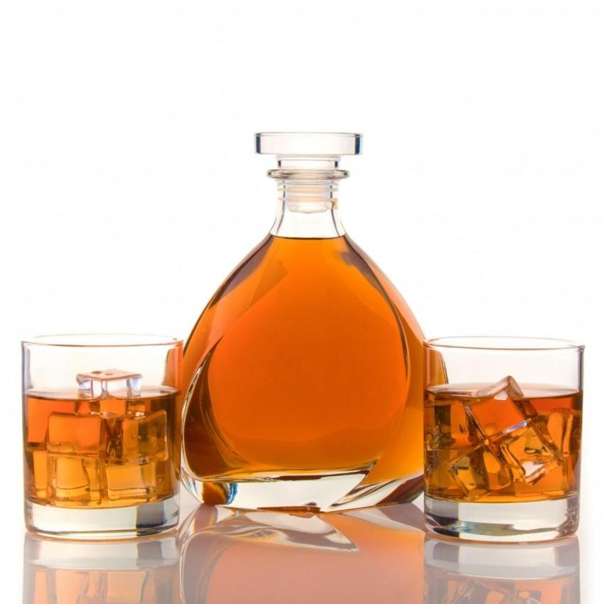 гарафа за уиски Luigi Bormioli Listz 700ml