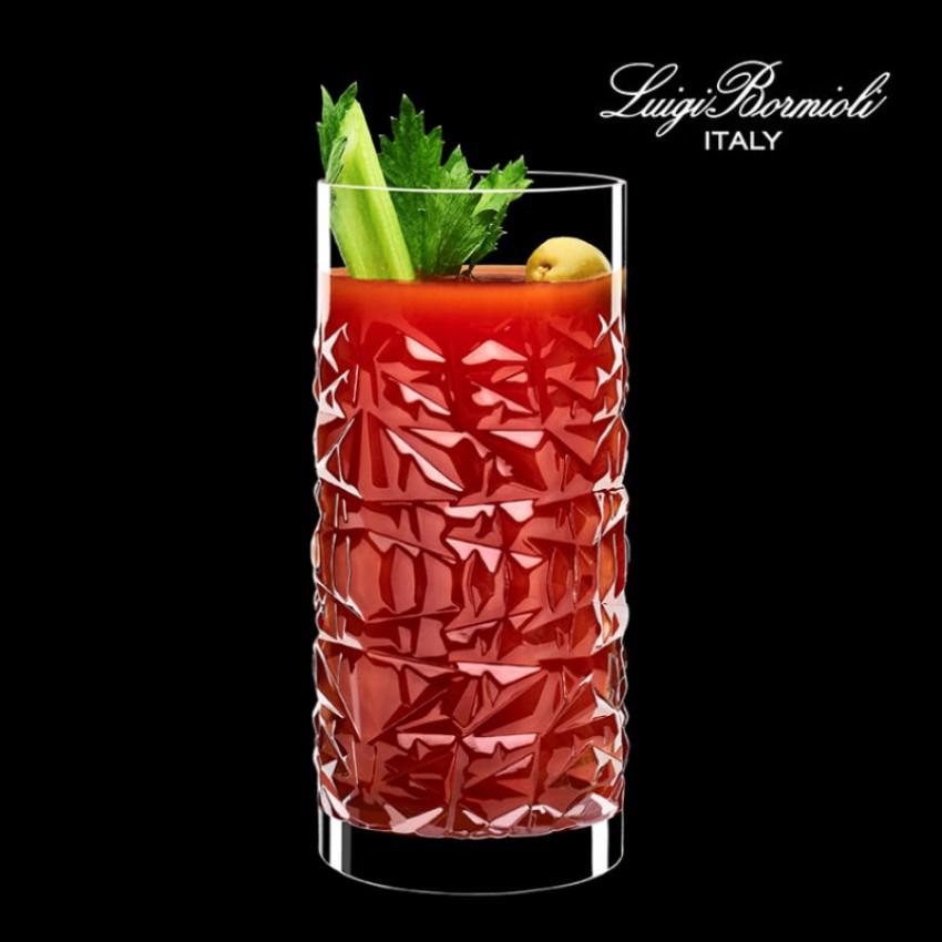 чаши за коктейл Luigi Bormioli Mixology Textures 480ml - 6 броя