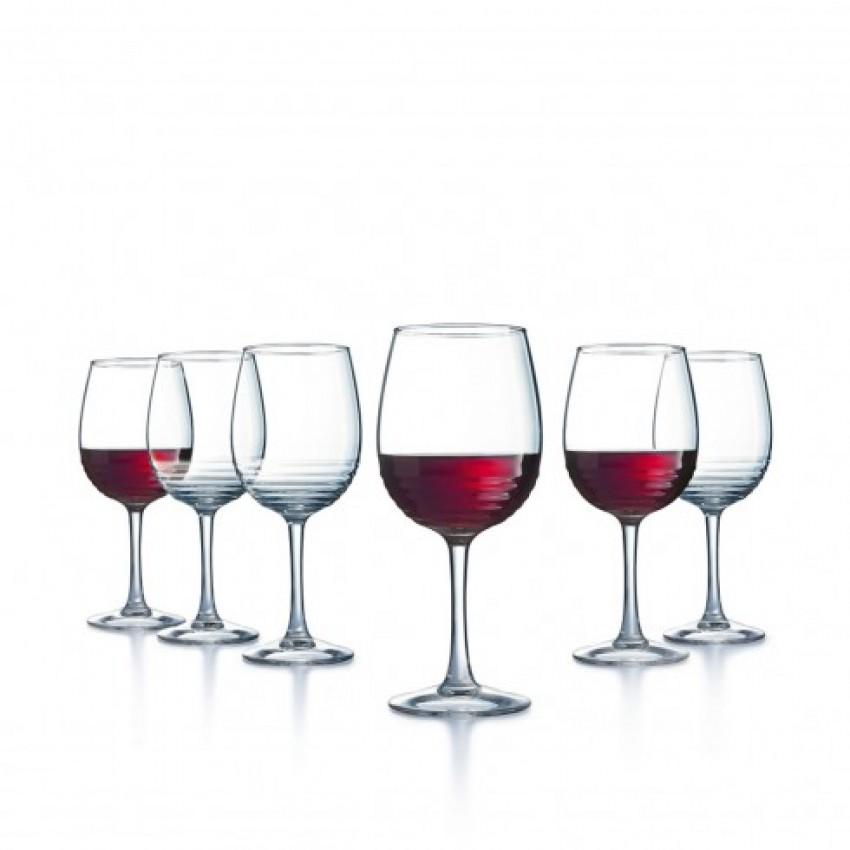Чаши Luminarc Harena за червено вино - 6 броя