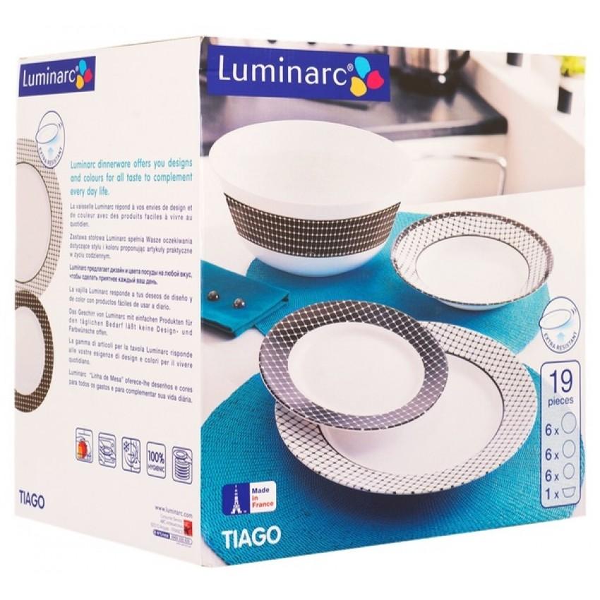 Сервиз Luminarc Tiago - 19 части