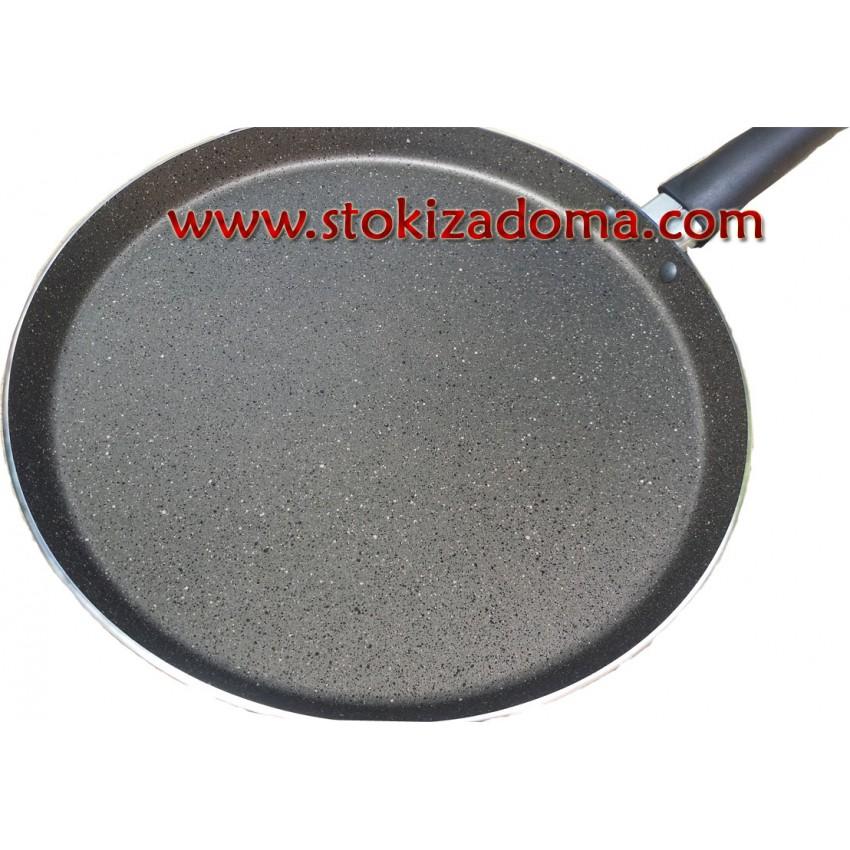 Тиган за палачинки 26см Mehtap Kuvars Granite