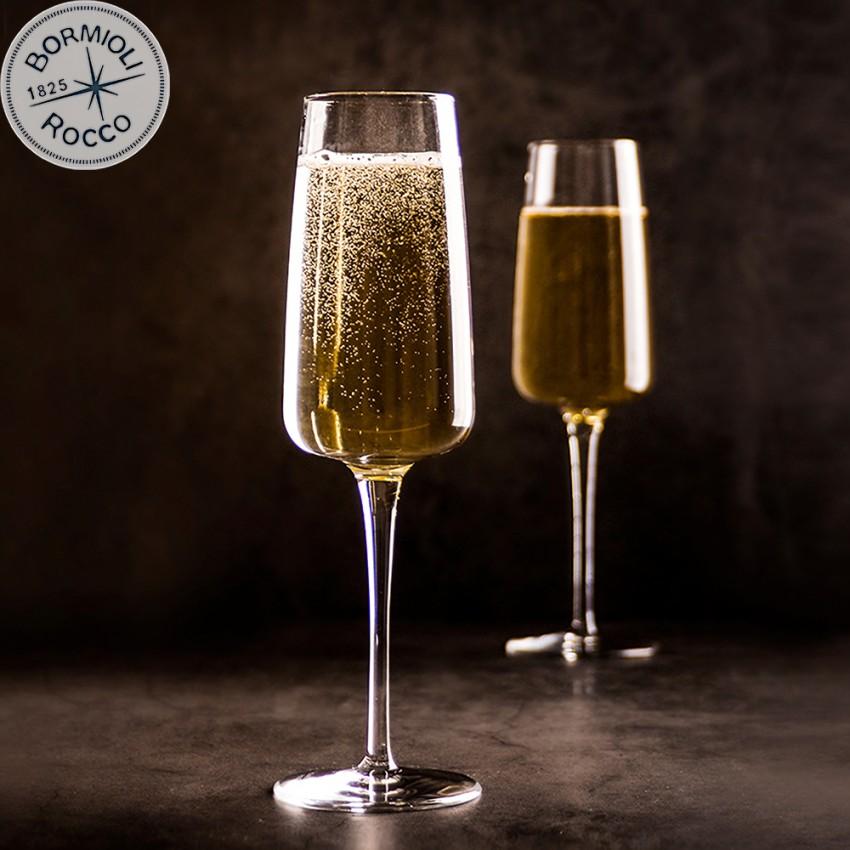 Чаши за шампанско Nexo 240ml - 6 броя