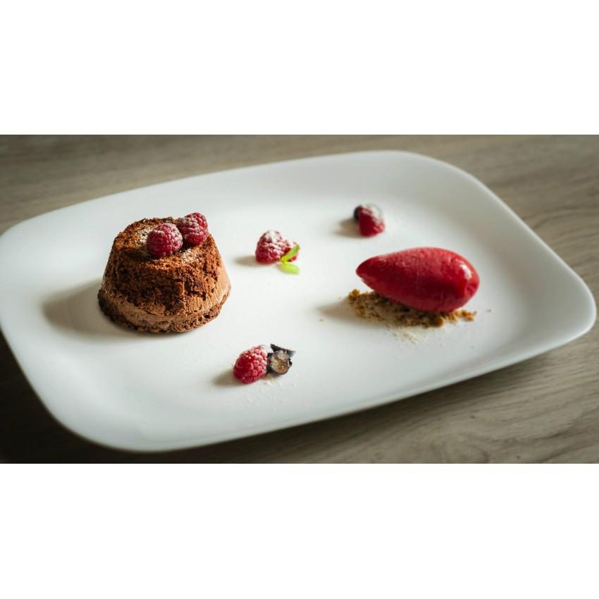 Десертна чиния / малко плато 21,5см х 16,5см