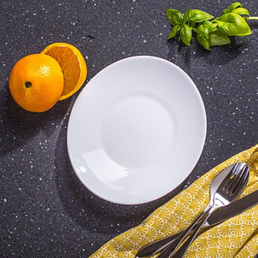 Десертна чиния 22см х 19см - 6 броя