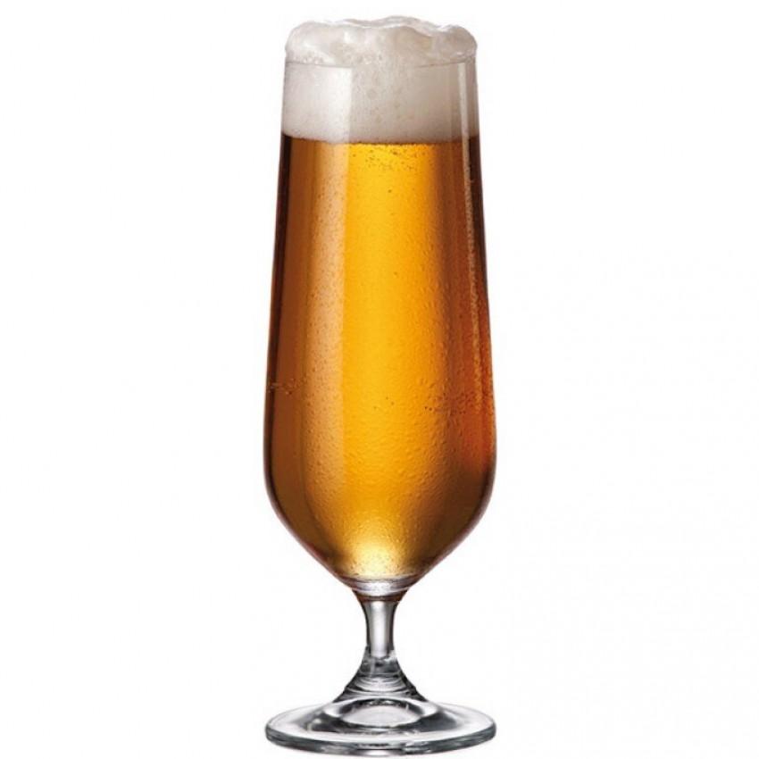 чаши за бира 380ml Bohemia Strix - 6 броя