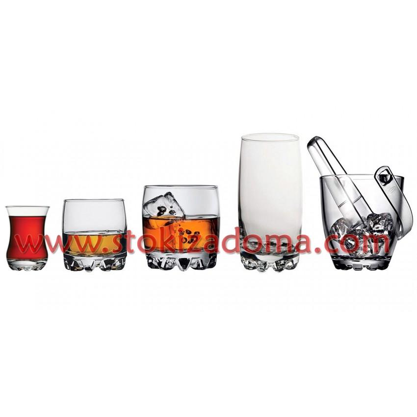 Комплект чаши Pasabahce Sylvana - 25 части