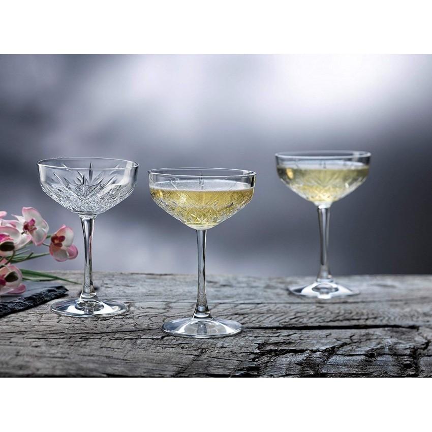 Чаши за шампанско Timeless 255ml - 4 броя