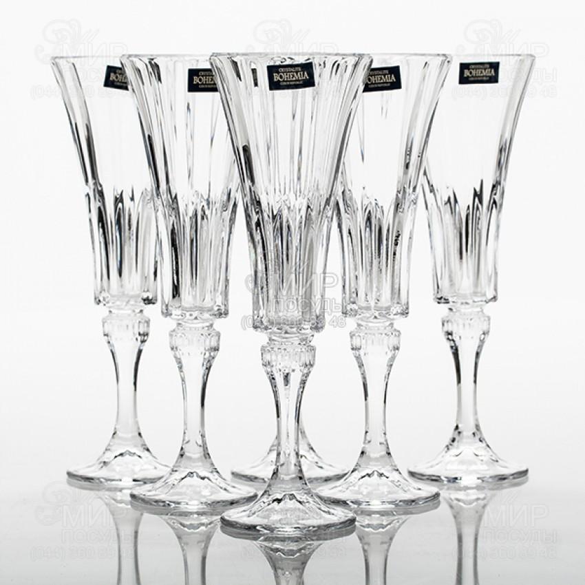 чаши за шампанско Bohemia Wellington 180ml - 6 броя